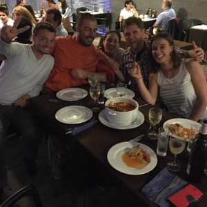 2015 - DCOECS15 Azores - group dinner1