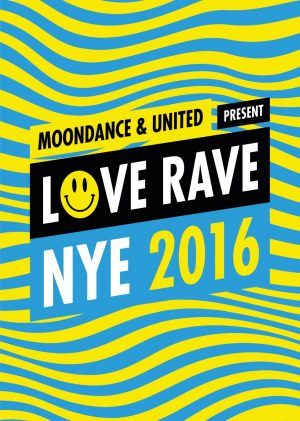 NYE, London. Moondance & United Present Love Rave @ Coronet