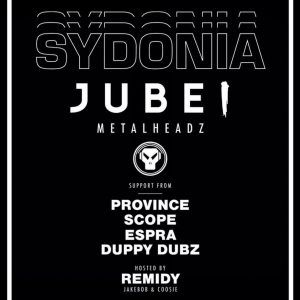 17/3, Hereford. Sydonia Presents: Jubei @ The Venue
