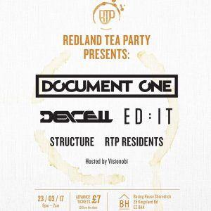 23/3, London. Redland Tea Party @ Basing House