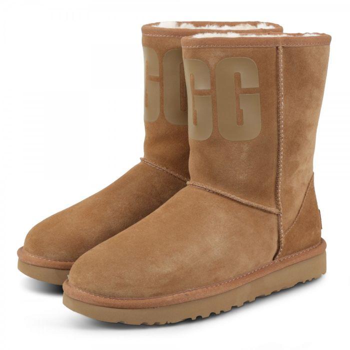 UGG Classic Short 1108230 Καφέ