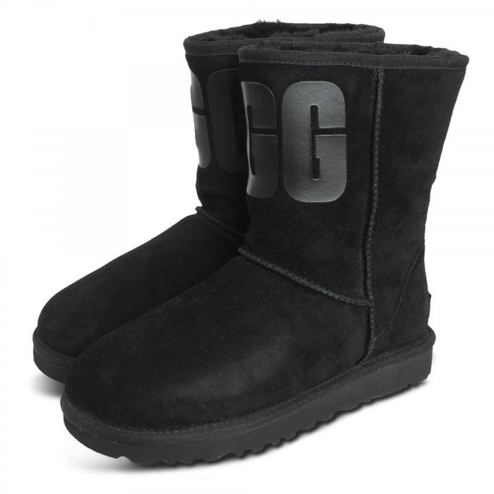 UGG Classic Short 1108230 Μαύρο
