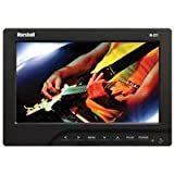 Marshall 7' Portable Camera-Top LCD Field Monitor with Canon LP-E6 Battery Plate/ Battery/ Charger, 16:9 Aspect Ratio, 400 cd/m2 Brightness