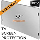 32 inch Vizomax TV Screen Protector for LCD, LED & Plasma HDTV