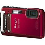 Olympus TG-820 12MP Shock/Water/Freeze-Proof Camera-Red V104060RU000