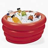 Inflatable Tub Cooler (Red) Party Accessory