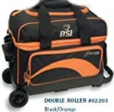 BSI Red/Black 2 Ball Roller Bowling Bag