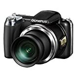 Olympus Sp-815uz 14mp Digital Camera Hdmi 36x Wide Angle 3d - Black