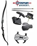 Crosman Archery Sentinel Youth Long Bow Set, Right Hand