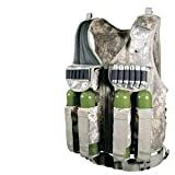 Ultimate Arms Gear Tactical Scenario ACU Army Digital Paintball Airsoft Battle Gear Tank-Armor Pod Vest