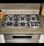 Dacor 36 inch Stainless Steel Gas Cooktop - RGC365SLP