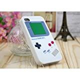 LE Iphone 4S 4 Nintendo Game Boy Silicone Case White Color HIGH QUALITY GUARANTEE and Super Realistic Look USA Seller Fast Shipping