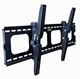 Mount-It! Universal Flat/Tilt Mount for 40-70 Inch Panel LED,LCD, PLASMA TVs (Samsung, Vizio, Sony, LG, Toshiba)
