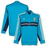 12-13 Real Madrid Anthem Jacket - Blue/Navy