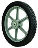 Oregon 72-024 Semi-pneumatic Wheel 14X175 Diamond Tread
