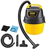 Stanley SL18125P-1 1-Gallon 1.5 Peak Portable Poly Series Horsepower Wet or Dry Vacuum Cleaner