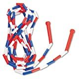 Champion Sports Segmented Plastic Jump Rope, 16-ft., Red/Blue/White
