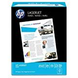 HP LaserJet Paper, 97 Brightness, 8.5 x 11 Inches, 24 lb, 500 Sheets (11240-0)