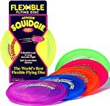 Flexibe Flying Disc Aerobie Squidgie Disc (Color May Vary)