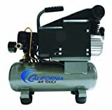 California Air Tools CAT-116DLH 1.0 Hp 1.6-Gallon Steel Tank Oil-Lubricated Air Compressor