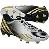 Adidas Predator Absolion LZ TRX FG White/Gold Mens Soccer Shoes