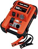 Black & Decker JUS500IB 500-Amp Jump Starter with Built-in Tire Inflator