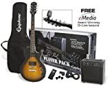 Epiphone Guitar Pack Series PPEG-EGL1VSCH1 Electric Guitar Pack - Vintage Sunburst