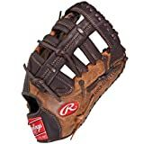 Rawlings Player Preferred First Base Mitt (Tan/Brown-Left Hand Throw, 12 1/2-Inch)