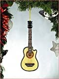 Steel String Guitar Tree Ornament (With Cut Away)