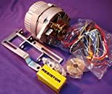One-Wire 63 amp Alternator Conversion Kit Ford 8N Tractor With Side Mount Distributor #263844-Up