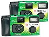 Fujifilm Quicksnap Flash 400 Single-Use Camera With Flash (2 Pack)