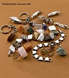 Polished Rock Accessory Kit with Jewelry Findings