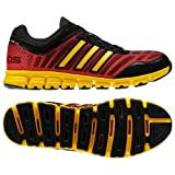Adidas ClimaCool Aerate 2 Black/Yellow Mens Running Shoes