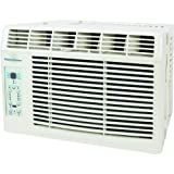 Keystone KSTAW05A 5,200 BTU 115-Volt Window-Mounted Air Conditioner with 'Follow Me' LCD Remote Control