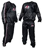 Heavy Duty Sweat Suit Sauna Exercise Gym Suit Fitness Weight Loss Anti-Rip Small to 6XL