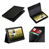 Poetic(TM) Slimbook Leather Case for Acer Iconia A200 / A210 10.1-Inch Tablet (3 Year Manufacturer Warranty From Poetic)