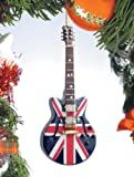 Union Jack Guitar Tree Ornament