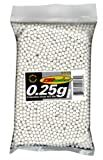 TSD Tactical 5,000 ct. Bag Plastic White Airsoft BBs (6mm, 0.25g)