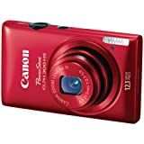 Canon PowerShot ELPH 300 HS 12.1 MP CMOS Digital Camera with Full 1080p HD Video (Red)