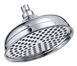 Danze D461192 Antique Bell 8-Inch Showerhead, Chrome
