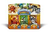 Activision Skylanders Giants Triple Pack #6 (Eruptor, Stealth Elf & Terrafin)