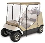 Classic Accessories Fairway Travel 4-sided Golf Car Enclosure (Fits most two-person golf cars)