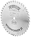 Forrest WW10407100 Woodworker II 10-Inch 40-tooth ATB .100 Kerf Saw Blade with 5/8-Inch Arbor