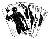12 Pack of Zombie, Vampire, and Horror Targets 23 X 35 Inches