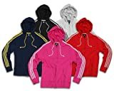 Adidas Womens Athletic Zipped Hoodie, Hooded Jacket