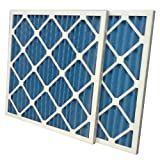 20x22x1 Standard Capacity MERV 8 Pleated Air Filter (Case of 6)