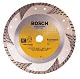 Bosch DB963 Premium Plus 9-Inch Dry Cutting Turbo Continuous Rim Diamond Saw Blade with 7/8-Inch Arbor for Masonry