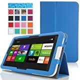 MoKo Acer Iconia W3-810 Case - Slim Cover Case for Acer Iconia W3-810 8.1 Inch Windows 8 Tablet, BLUE