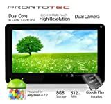9 Inch Capacitive Touch Screen Tablet Pc, Allwinner A20 Cortex A8 Dual Core 1.5 Ghz, Android 4.2, 8gb Nand Flash, Ddr3 512mb Ram, Dual Camera, Wi-fi, G-sensor (White)