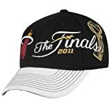 NBA Miami Heat 2011 Conference Champions Locker Room Hat (Black/White, OSFA)